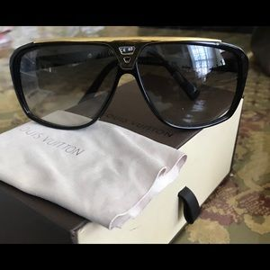 f4c718a8f33 Women s Authentic Louis Vuitton Evidence Sunglasses on Poshmark